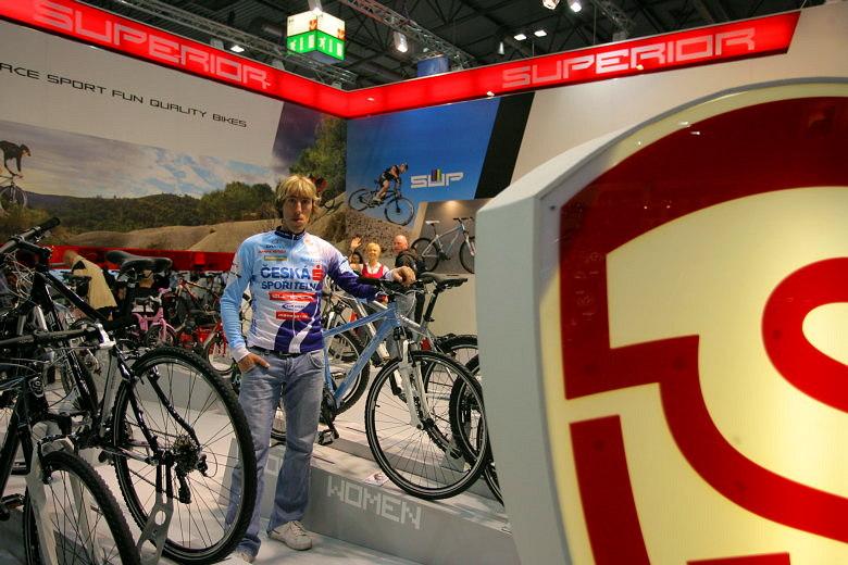 Sport Life, Brno 6.-9.11. 2008 - Milan Spěšný v novém dresu
