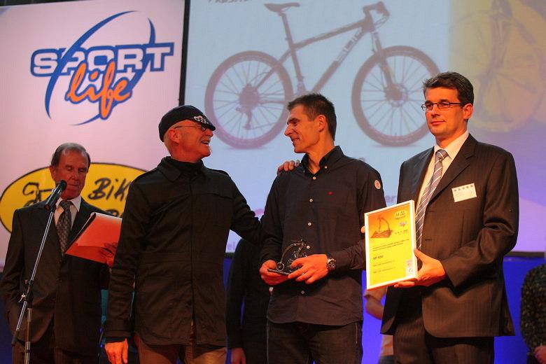 Sport Life, Brno 6.-9.11. 2008 - Gary Fisher, Petr Lavička a Aleš Pól