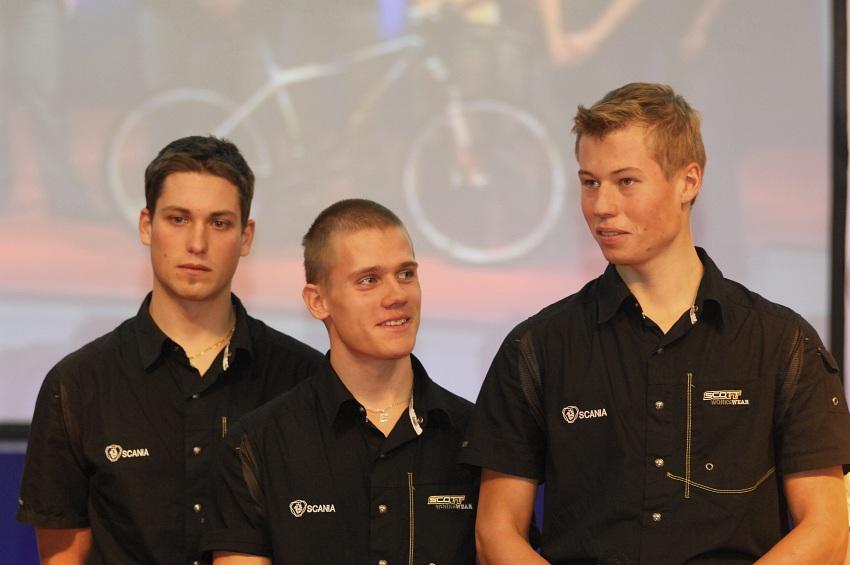 Sport Life 2008 Faces: Lukáš Sáblík, Tomáš Pešek, Filip Eberl