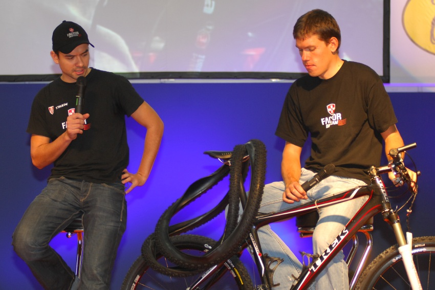 Sport Life 2008 Faces: Standa Hejduk a Tomáš Vokrouhlík