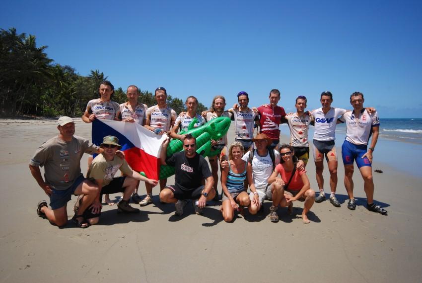 Crocodile Trophy 2008 - 10.etapa: Česká výprava na Crocodile Trophy