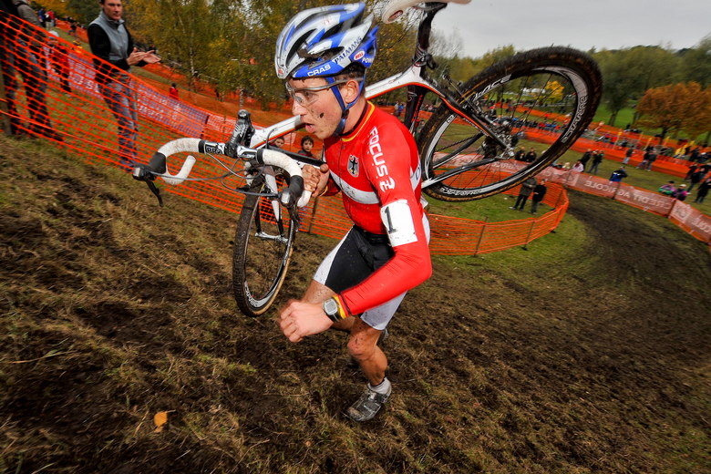 Mistrovstv� Evropy v cyklokrosu, 2.11.2008 Li�vin/FRA, foto: Armin K�stebr�ck