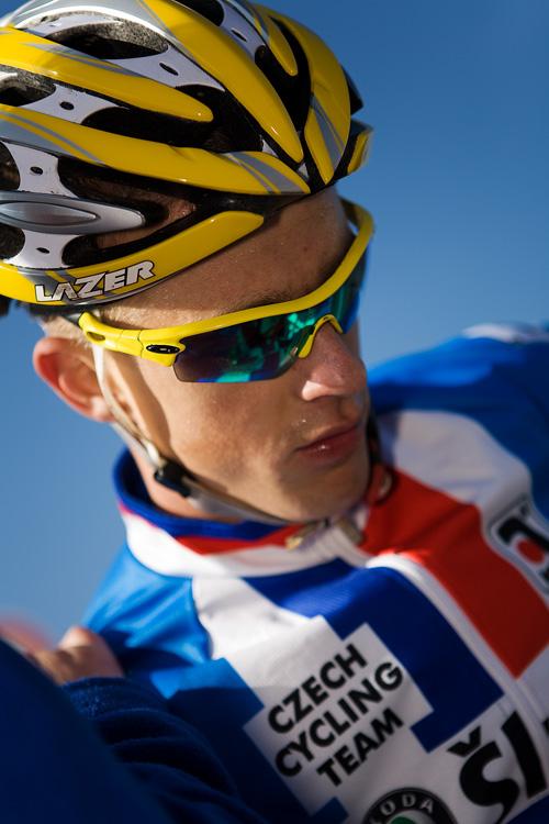 Světový pohár v cyklokrosu - Tábor 26.10.2008 - Lukáš Klouček
