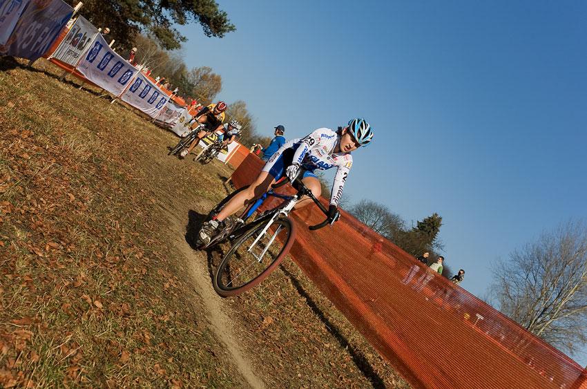Sv�tov� poh�r v cyklokrosu - T�bor 26.10.2008 - Jitka �karnitzlov�