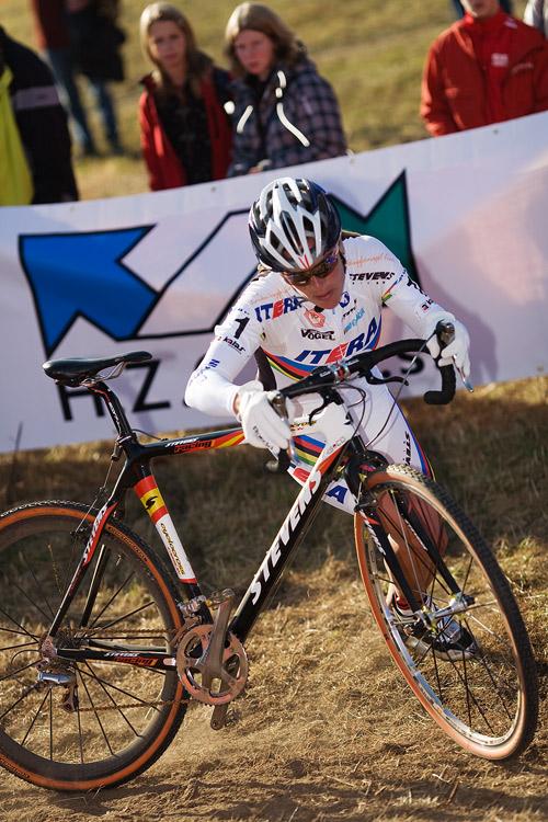 Světový pohár v cyklokrosu - Tábor 26.10.2008 - Janka Kupfernagel