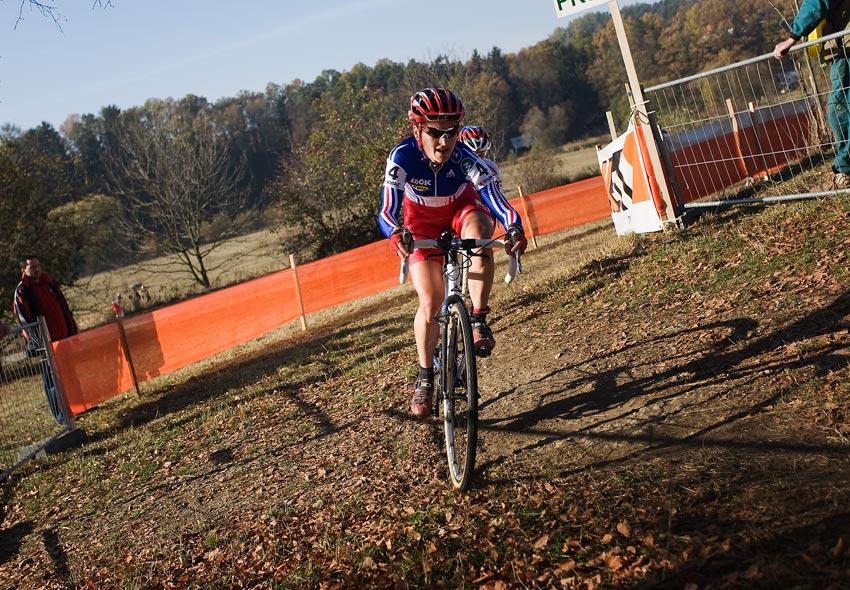 Sv�tov� poh�r v cyklokrosu - T�bor 26.10.2008 - Maryline Salvetat