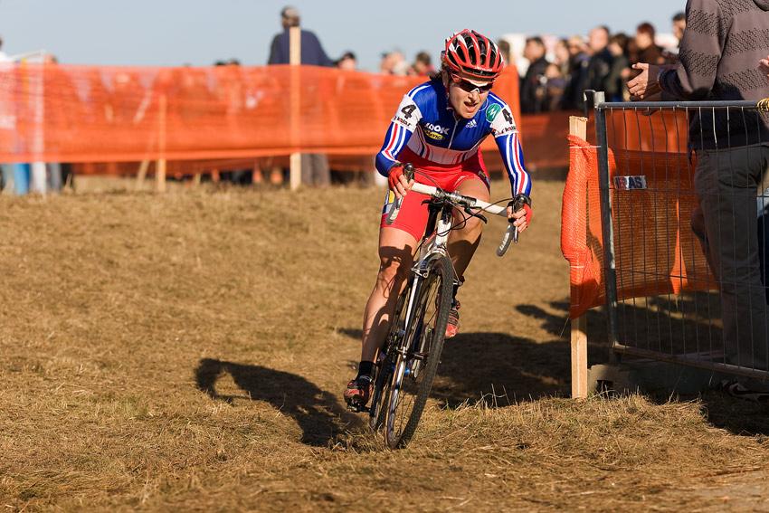 Světový pohár v cyklokrosu - Tábor 26.10.2008 - Marilyne Salvetat