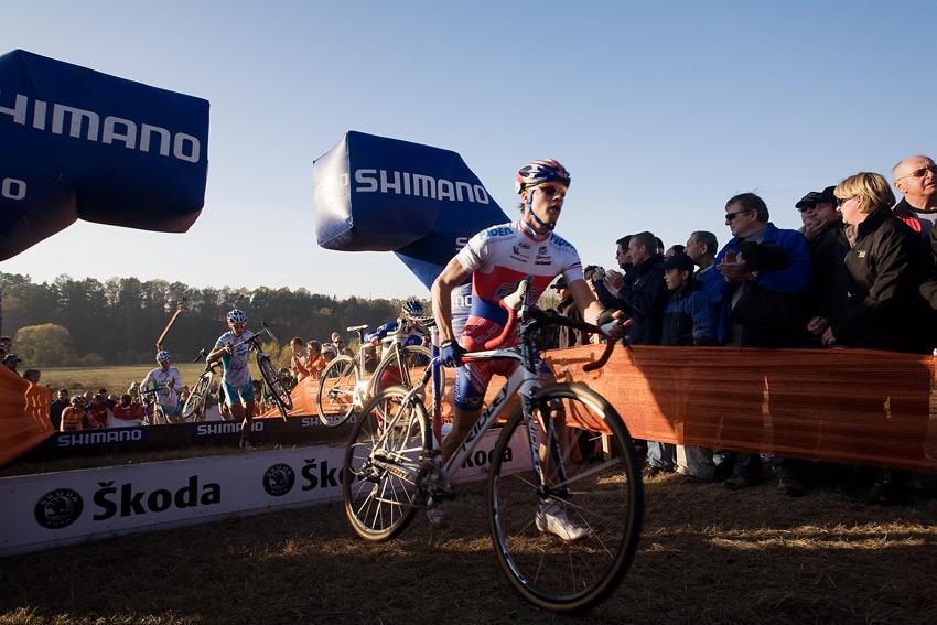Světový pohár v cyklokrosu - Tábor 26.10.2008 - Zdeněk Štybar