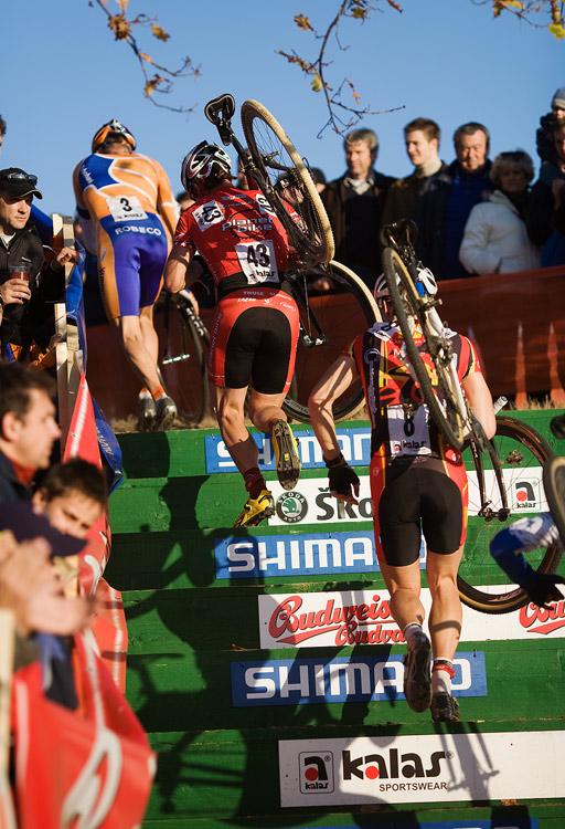 Sv�tov� poh�r v cyklokrosu - T�bor 26.10.2008