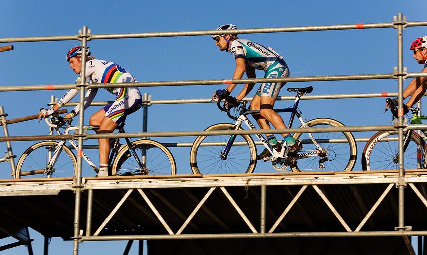 Světový pohár v cyklokrosu - Tábor 26.10.2008 - Boom a Wellens