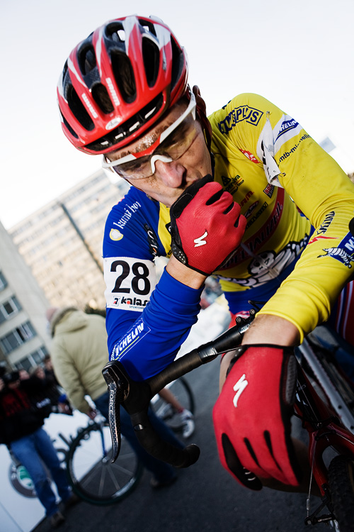Světový pohár v cyklokrosu - Tábor 26.10.2008 - Jaroslav Kulhavý