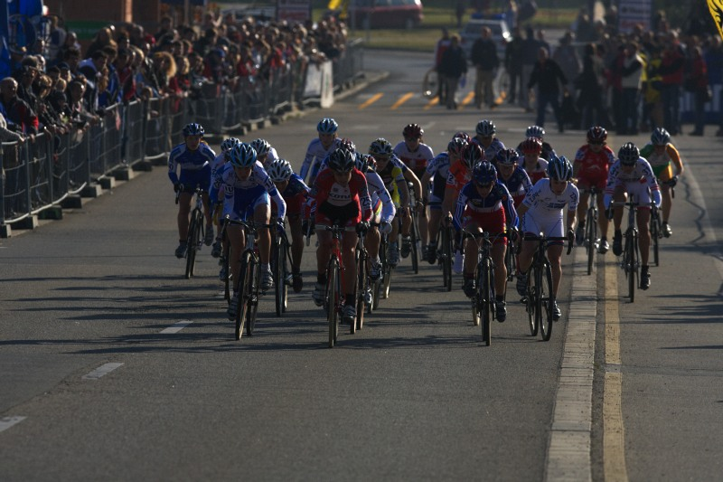 Světový pohár v cyklokrosu - Tábor 26.10.2008 - start žen