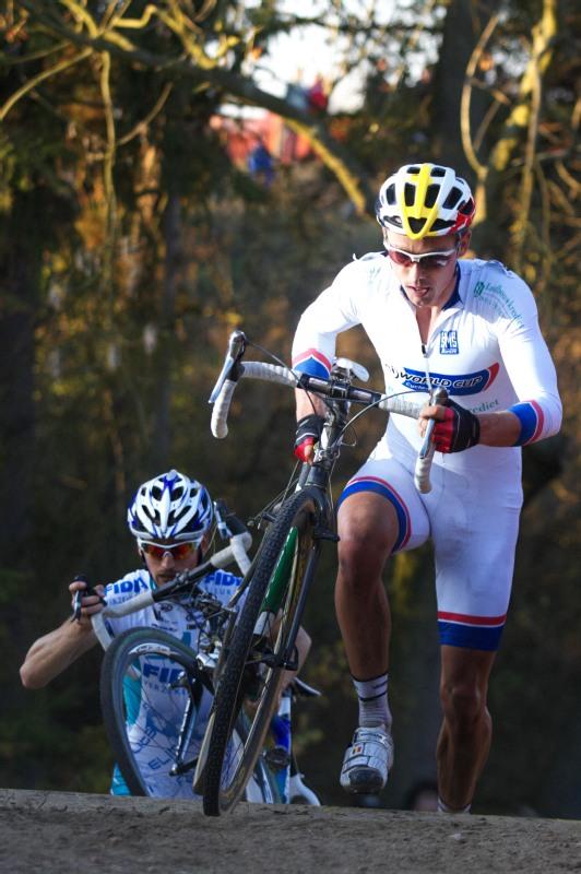 Světový pohár v cyklokrosu - Tábor 26.10.2008 - Sven Nijs
