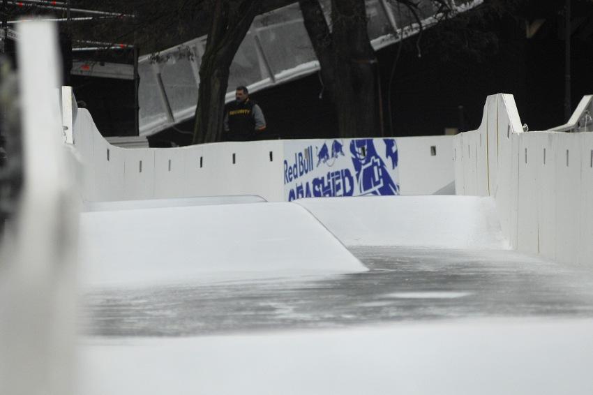 Red Bull Crashed Ice - Vyšehrad 2009: střední pasáž