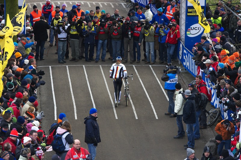 Mistrovství světa Cyklokros, Hoogerheide/NIZ - 1.2. 2009 - Janka Kupfernagel