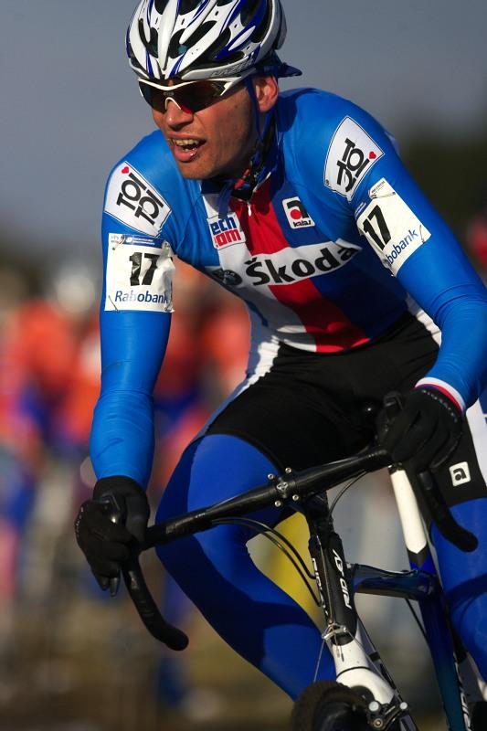 Mistrovství světa Cyklokros, Hoogerheide/NIZ - 1.2. 2009 - Petr Dlask