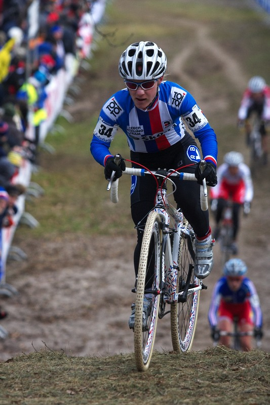 Mistrovství světa Cyklokros, Hoogerheide/NIZ - 1.2. 2009 - Pavla Havlíková si přála mít v závodě štěstí, to ji nevyšlo - zlomila rám
