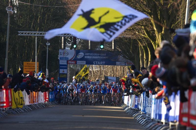 Mistrovství světa Cyklokros, Hoogerheide/NIZ - 31.1. 2009  - start závodu U23