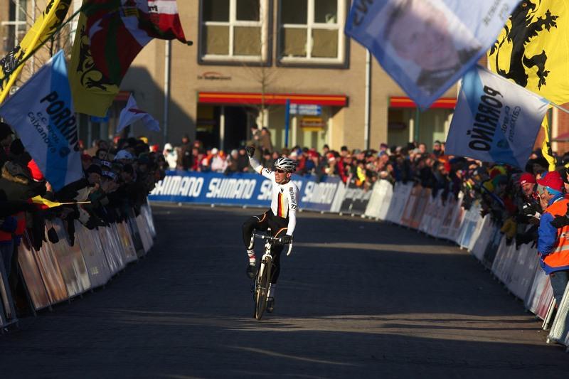Mistrovství světa Cyklokros, Hoogerheide/NIZ - 31.1. 2009 - po titulu mistra Evropy si Walsleben dojíždí i mistra světa