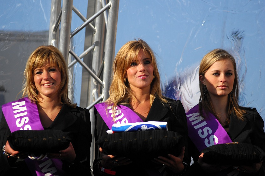 MS CX Hoogerheide 2009 - junio�i: Podium girls