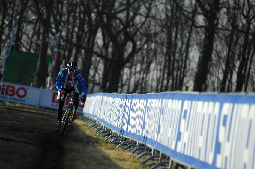 MS Cyklokros 2009 Hoogerheide /NED/ - pátek: Lukáš Příhoda
