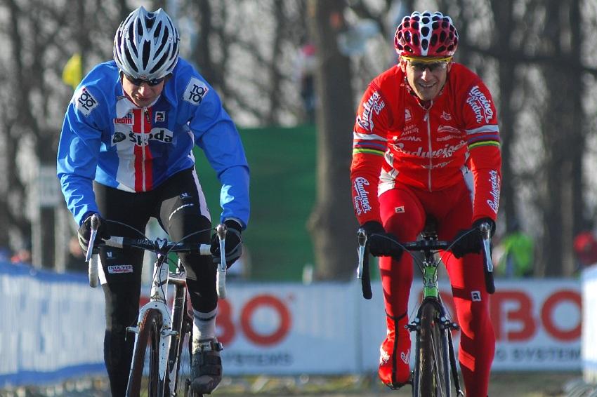 MS Cyklokros 2009 Hoogerheide /NED/ - pátek: Radek Šimůnek a Martin Bína