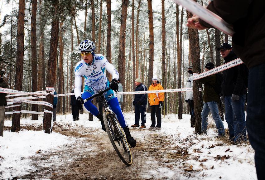 Mistrovství ČR cyklokros - Kolín 10.1. 2009 - Zdeněk Štybar, foto: Miloš Lubas