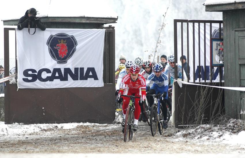 MČR Cyklokros 2009 - Kolín: start Elite