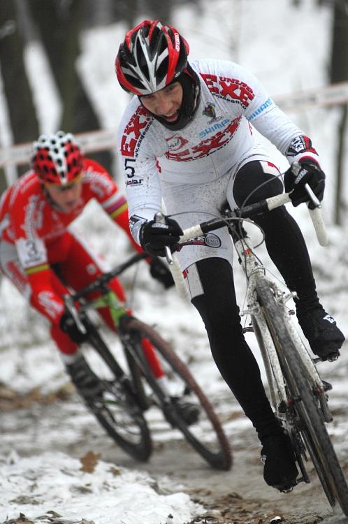 MČR Cyklokros 2009 - Kolín: Kamil Ausbuher