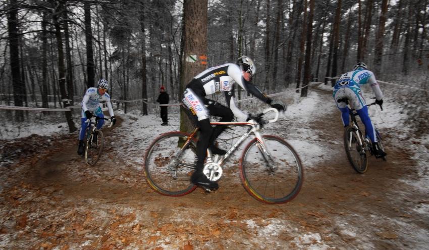 MČR Cyklokros 2009 - Kolín: vedoucí trojice