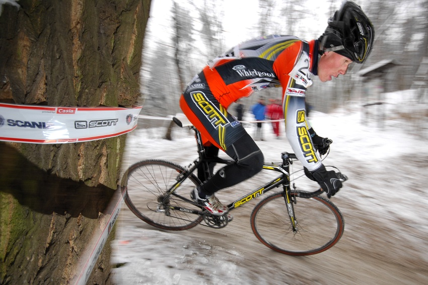 M�R Cyklokros 2009 - Kol�n: Filip Eberl