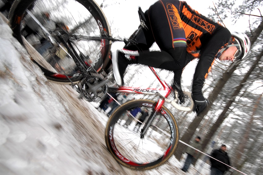 MČR Cyklokros 2009 - Kolín: Zdeněk Mlynář