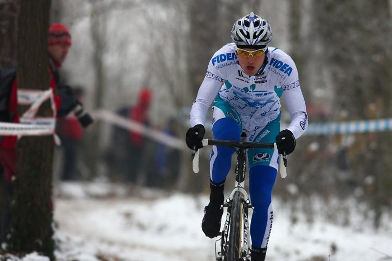 Mistrovství ČR cyklokros - Kolín 10.1. 2009 - Zdeněk Štybar
