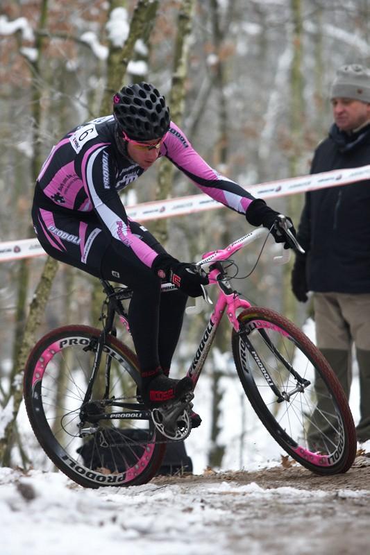 Mistrovství ČR cyklokros - Kolín 10.1. 2009 - Martin Zlámalík