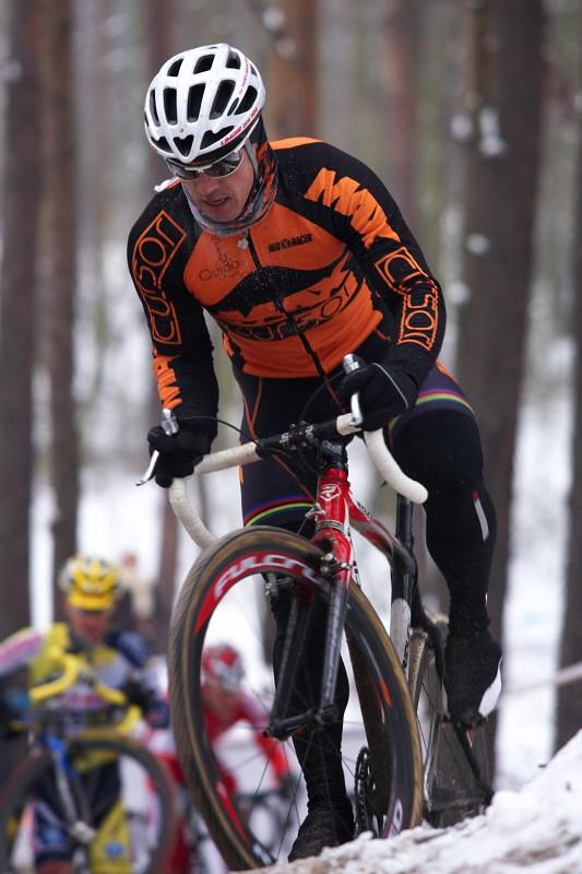 Mistrovství ČR cyklokros - Kolín 10.1. 2009 - Zdeněk Mlynář
