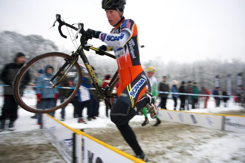 Mistrovství ČR cyklokros - Kolín 10.1. 2009 - Filip Eberl