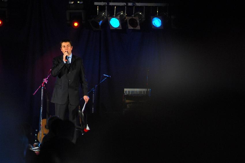 Finálový večer KPŽ '08: večer moderoval Tomáš Hauptvogel