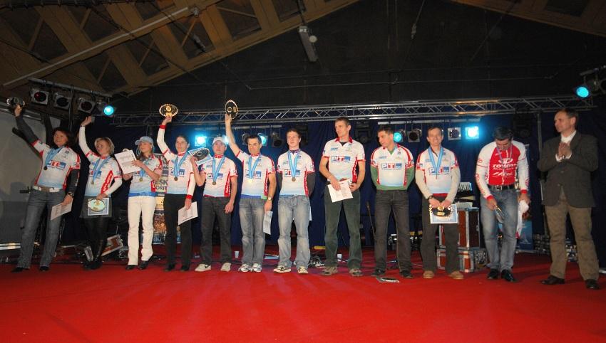 Finálový večer KPŽ '08: nejlepší závodníci v Prestige Trophy