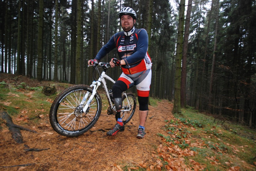 Cyklotrenink.com Kemp 2008 - Tomáš Pouch