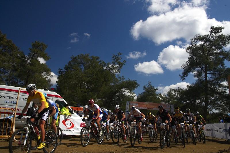 Sunshine Cup #2 - Afxentia Stage Race 2009, Kypr - neděle byla sice slunečná, ale stále poměrně chladná