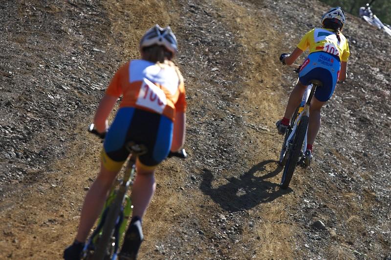 Sunshine Cup #2 - Afxentia Stage Race 2009, Kypr - Tereza Huříková byla po nedělním defektu ze závodu odvolána