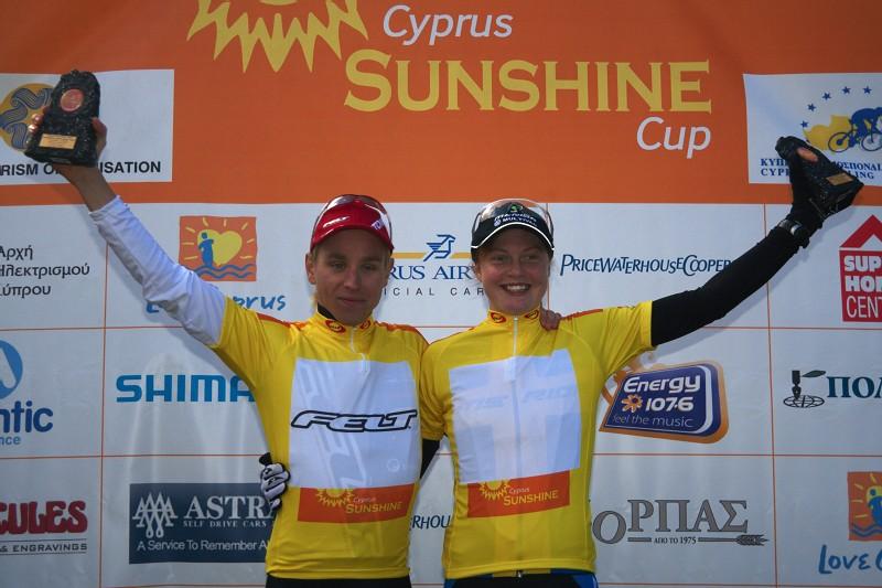 Sunshine Cup #2 - Afxentia Stage Race 2009, Kypr - Švédské duo Emil Lindgren a Alexandra Engen