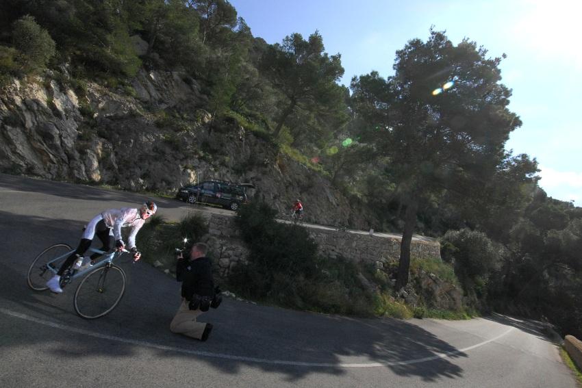 Najíždění kilometrů na Mallorce obrazem: Kolega Armin Kuestenbrueck v akci
