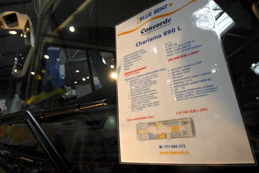 Sport Prague 2009: domeček na kolech za 180 tisíc Euro (5,4 mil Kč)
