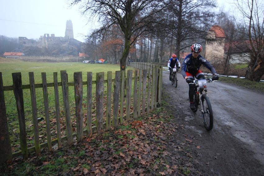 1. Zimní pražský MTB maraton '09: Okoř