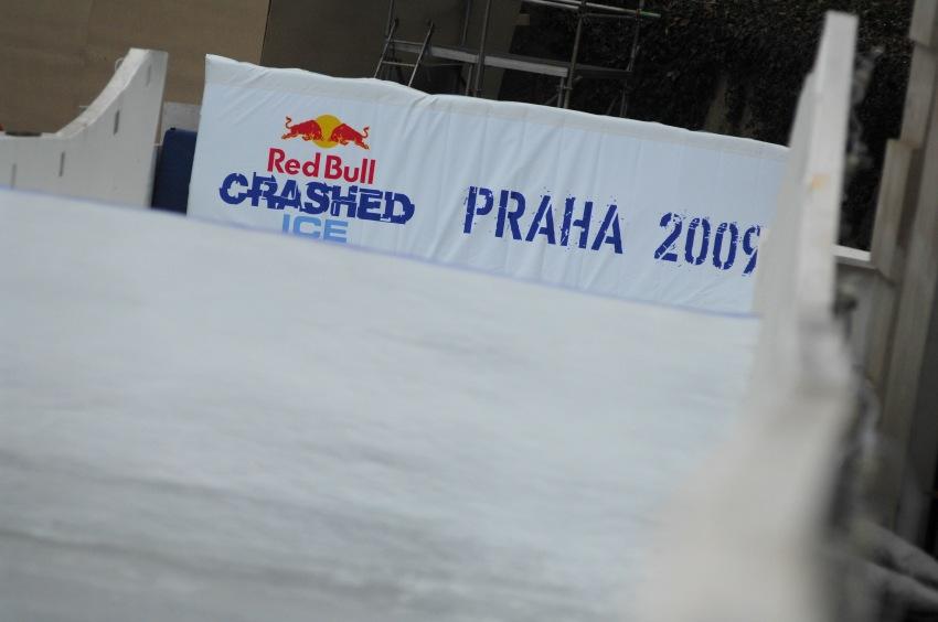 Red Bull Crashed Ice - Vyšehrad 2009: cíl