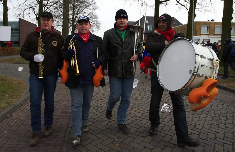Fanoušci na MS v cyklokrosu, Hoogerheide, /NIZ/ 31.1. - 1.2. 2009 - místy ci člověk přišel jako na koncertě