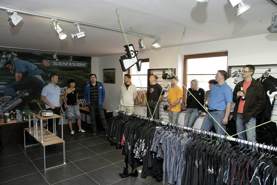 Otevíračka nového Ultrasportu + narozeniny Milana Jurky- představení Kofola Sensor týmu