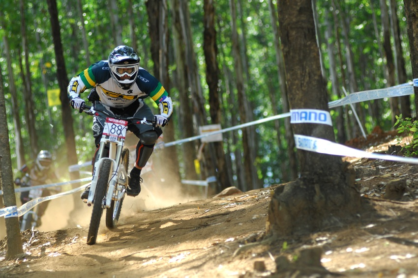 SP DH #1 2009 - Pietermaritzburg /RSA/: Mike Hannah
