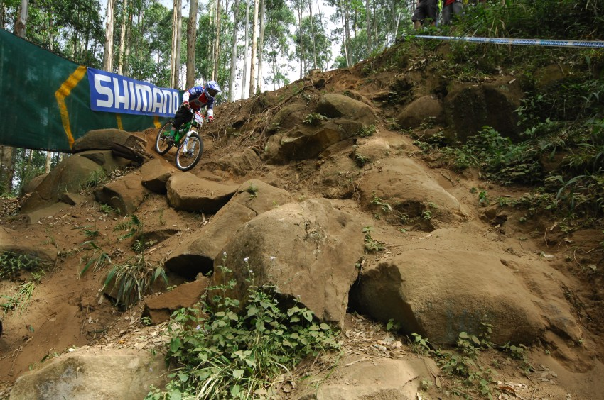 SP DH #1 2009 - Pietermaritzburg /RSA/: rocky section